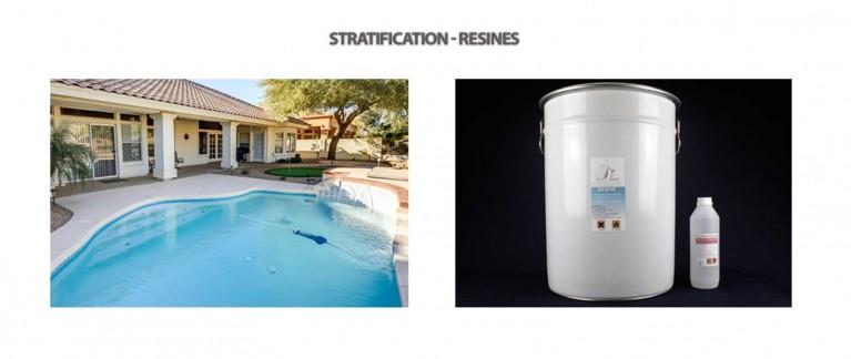 Stratification piscine