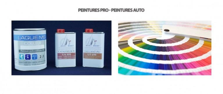 Peintures pros - Peinture auto